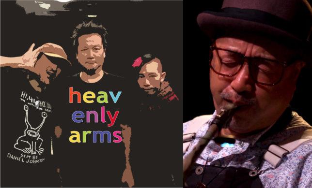 HEAVENLY ARMS × 梅津和時 @ 高円寺・JIROKICHI